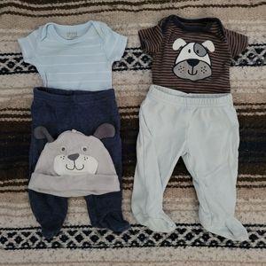 puppy set for newborn baby